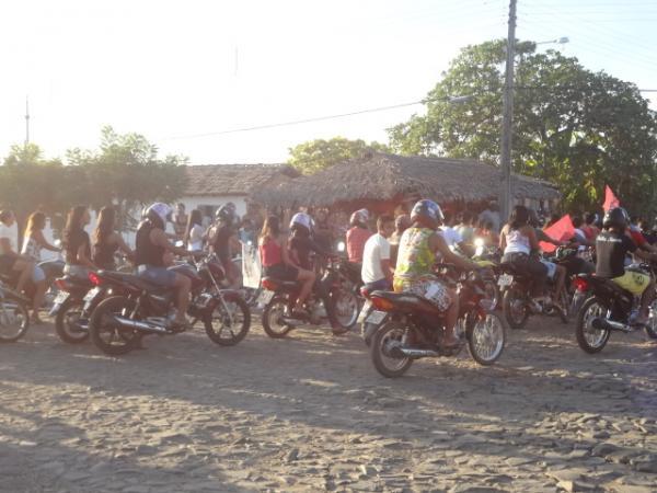 PR realizou carreata em Barão de Grajaú.  (Imagem:FlorianoNews)