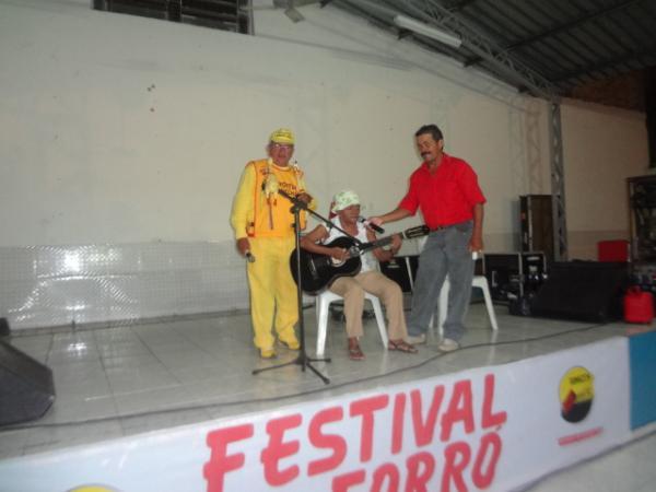 Projeto Amarelinho realizou Festival de Forró 2012.(Imagem:FlorianoNews)