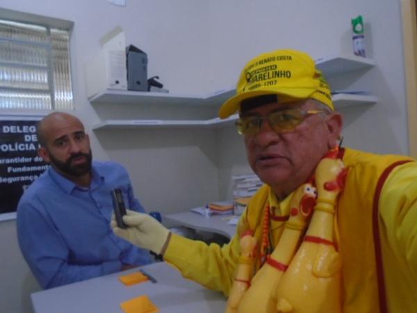 Delegado Júlio Castro, titular do 1º Distrito Policial.(Imagem:FlorianoNews)