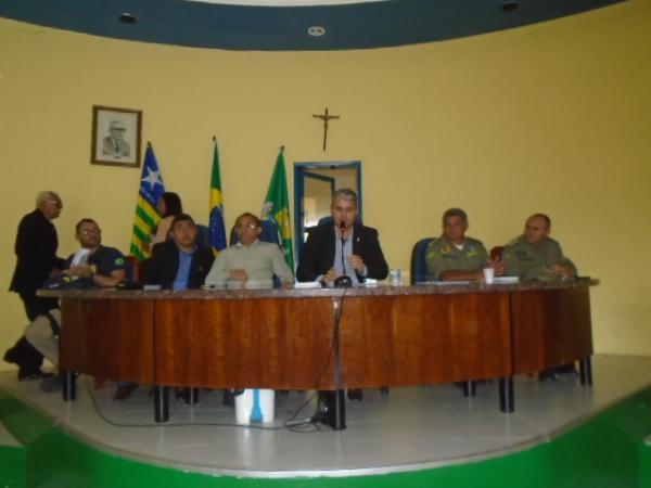 Segurança pública é tema de audiência pública em Floriano.(Imagem:FlorianoNews)