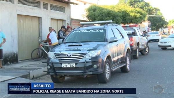 Suspeito toca campainha de casa, anuncia assalto e acaba morto em Teresina.(Imagem:Cidadeverde.com)