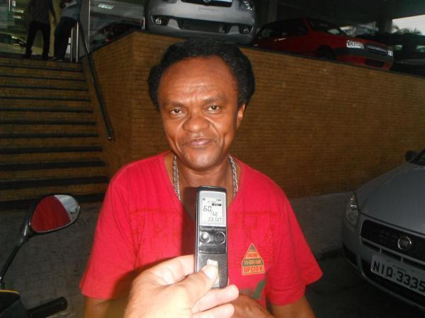 Francisco Marcelo, popularmente conhecido como Hayalla.(Imagem:FlorianoNews)