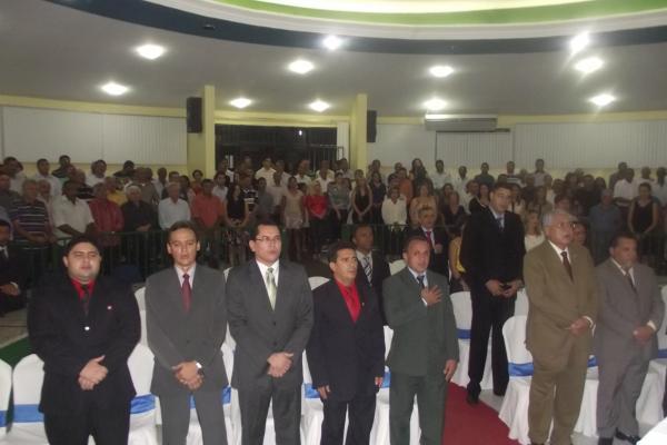 Prefeito, vice e vereadores eleitos são diplomados em Floriano.(Imagem:FlorianoNews)