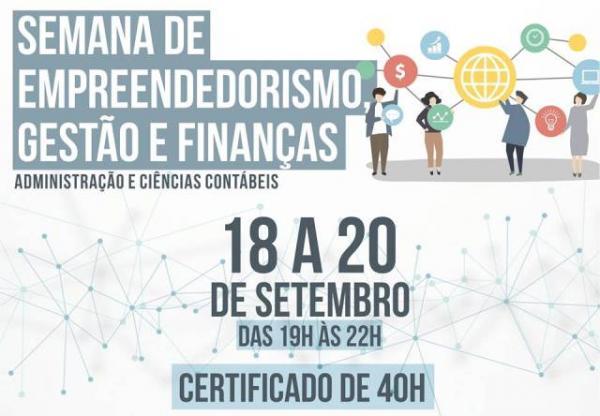 FAESF realiza Semana de Empreendedorismo, Gestão e Finanças.(Imagem:FAESF)