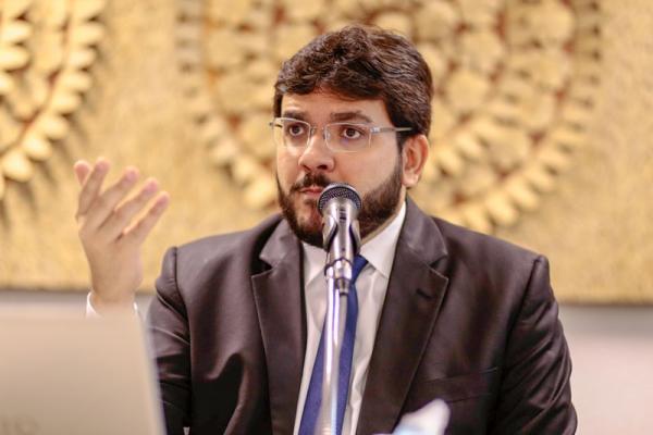 Secretário de Fazenda, Rafael Fonteles.(Imagem:RobertaAline/CidadeVerde.com)