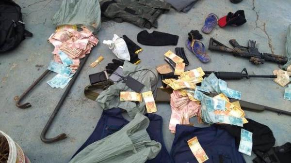 Suspeitos de explodir caixa eletrônico em Floriano são mortos em confronto com a Polícia.(Imagem:Divulgação/PM)