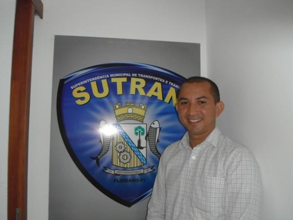 Marcony Alisson, Superintendente de Transportes e Trânsito de Floriano.(Imagem:FlorianoNews)
