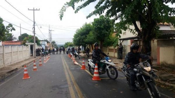 Policiais do 3º BPM recebem noções básicas de Motopatrulhamento Tático Urbano.(Imagem:Divulgação/3º BPM)