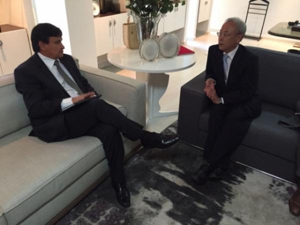 O governador Wellington Dias recebeu o cônsul-geral do Japão em Belém, Masahiko Kobayashi. (Imagem:CCom)