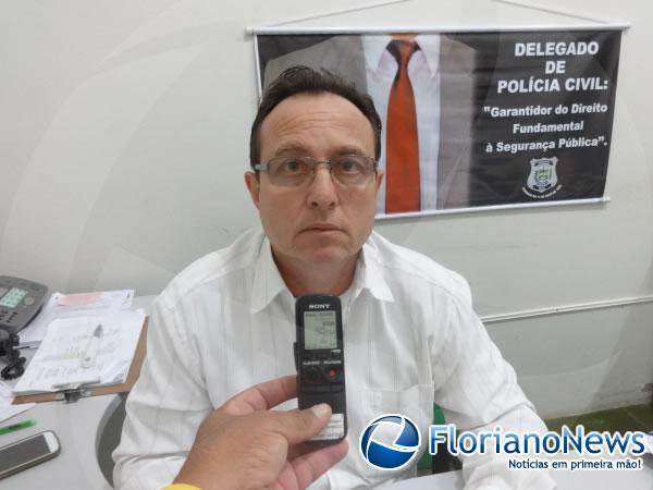 Delegado Francisco de Assis Carvalho(Imagem:FlorianoNews)