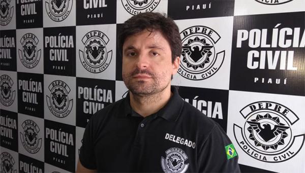 Delegado Cadena Júnior, coordenador da Depre.(Imagem:Graciane Sousa/ Cidadeverde.com)