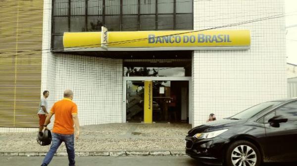 Banco do Brasil de Floriano.(Imagem:FlorianoNews)