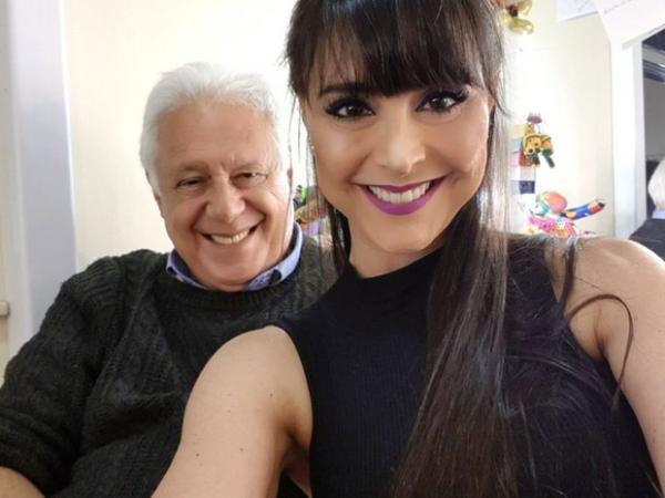 Alexandra Martins e Antonio Fagundes(Imagem:Reprodução)