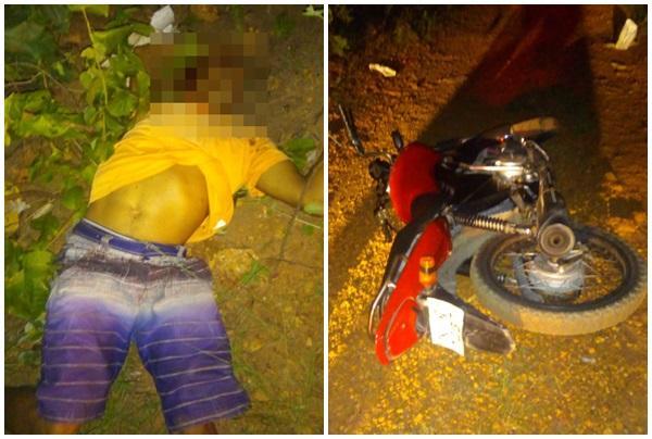 Homem é morto a tiros na zona rural de Floriano.(Imagem:Divulgação)