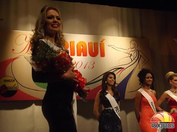 Miss Floriano, Grazielle Moura.(Imagem:180graus)