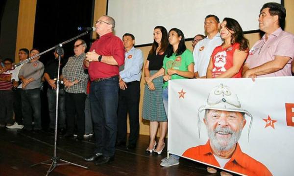 PT lança comitê em Teresina em defesa do direito de Lula se candidatar.(Imagem:Cidadeverde.com)