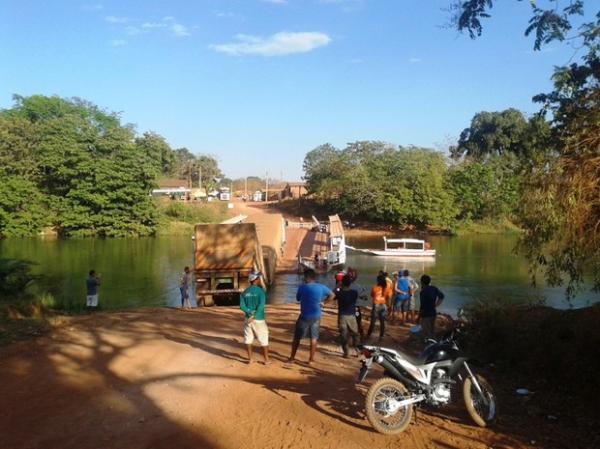 Travessia entre os estado do Maranhão e Piauí está paralisada.(Imagem:Antonio Santos/ Arquivo pessoal)