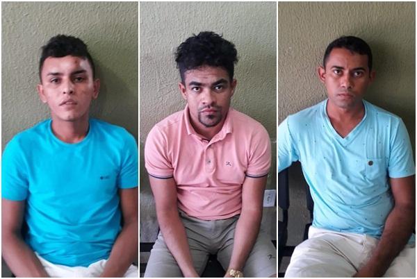Cearenses de alta periculosidade são presos em motel no Piauí.(Imagem:Divulgação/PM)