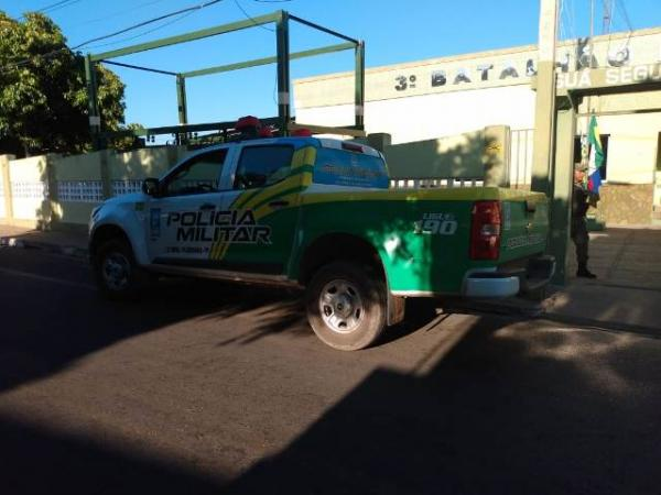 PM registra roubo de duas motocicletas em Floriano.(Imagem:FlorianoNews)
