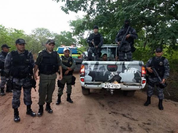 PM recupera segundo veículo roubado e prende suspeito de arrastão em Floriano.(Imagem:3º BPM)