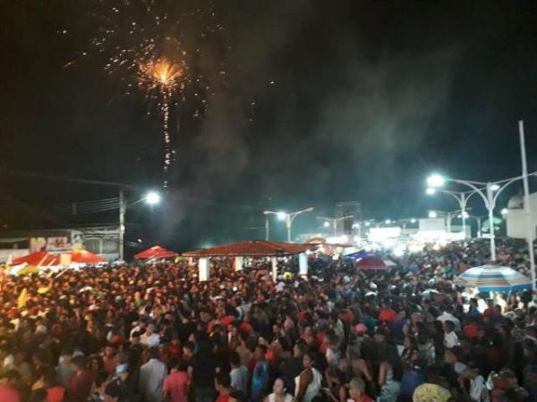 Show de Léo Magalhães marca o aniversário de Barão de Grajaú.(Imagem:FlorianoNews)