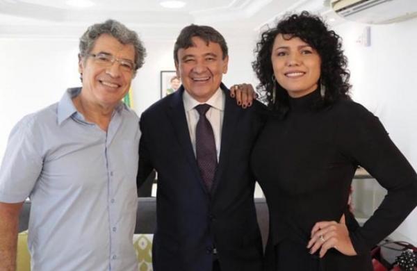 Governador recebe os atores Paulo Betti e Dadá Coelho no Karnak.(Imagem:Instagram)
