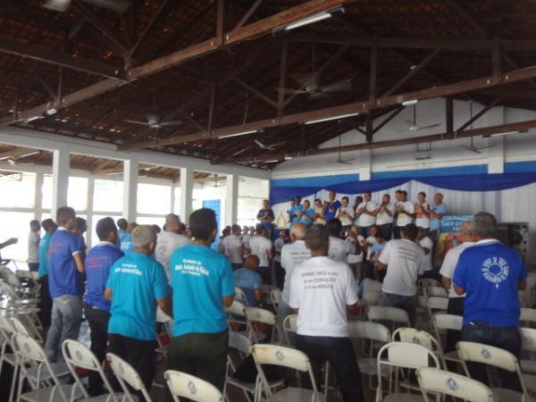 Floriano sediou Encontro Diocesano do Terço dos Homens.(Imagem:FlorianoNews)