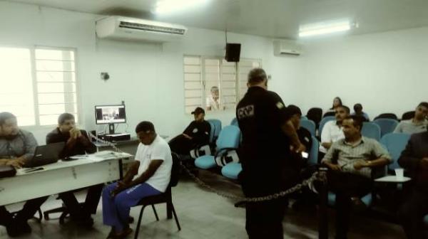 Levi Martins é condenado a 13 anos pela morte de companheira em Floriano.(Imagem:FlorianoNews)