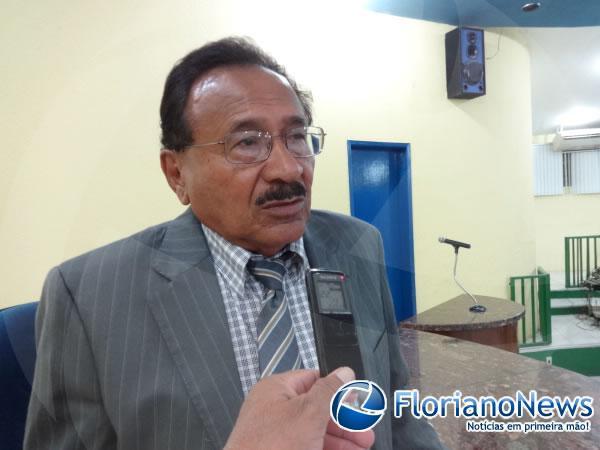 Vereador Manoel Simplício(Imagem:FlorianoNews)