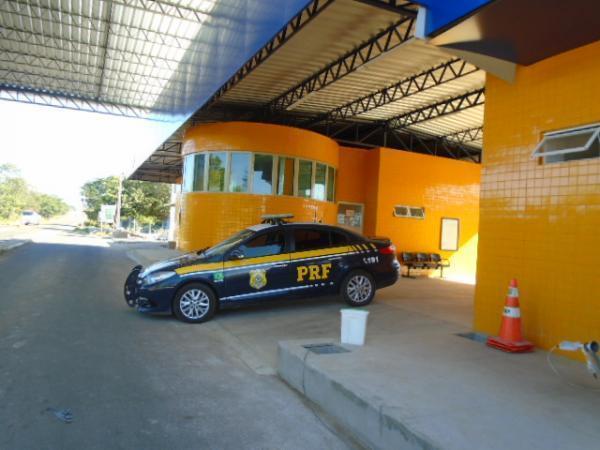 Polícia Rodoviária Federal da 3ª Delegacia de Floriano.(Imagem:FlorianoNews)