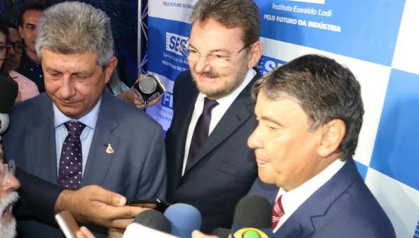 Zé Filho reúne ex-governadores e adversários políticos(Imagem:PeríclesMendel/CidadeVerde.com)