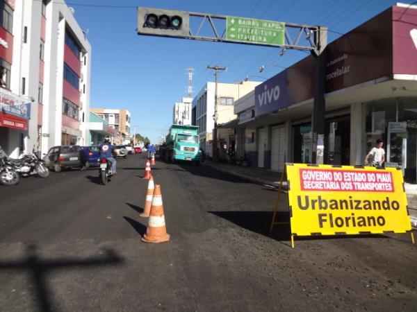 Rua São João(Imagem:FlorianoNews)