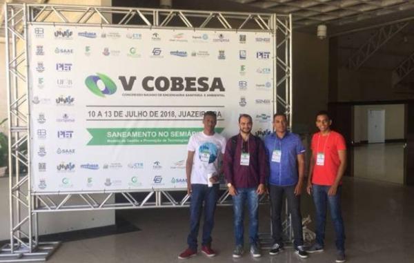 Acadêmicos da FAESF representam município em Congresso na Bahia.(Imagem:FAESF)