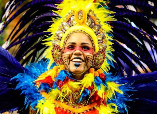 Tatuapé canta beleza do Maranhão e vence Carnaval de São Paulo.(Imagem:Fábio Tito/G1)