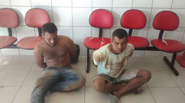 Miguel Ítalo Curim Sousa, de 23 anos, e Elielson Manoel dos Santos, de 18 anos.(Imagem:PM-PI)