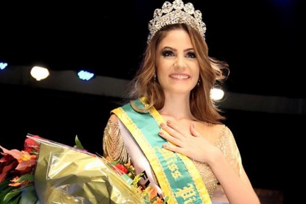 Lara Lobo, Miss Piauí 2016.(Imagem:Reprodução)