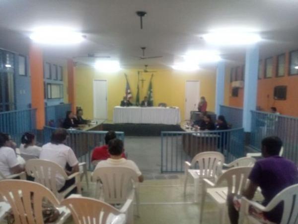 Projetos são aprovados por unanimidade em sessão na Câmara de Barão de Grajaú.(Imagem:FlorianoNews)