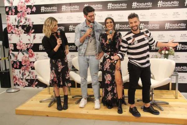 Camila Coelho lança coleção de roupa com presença de Giovanna Ewbank e Gagliasso.(Imagem:MSN)
