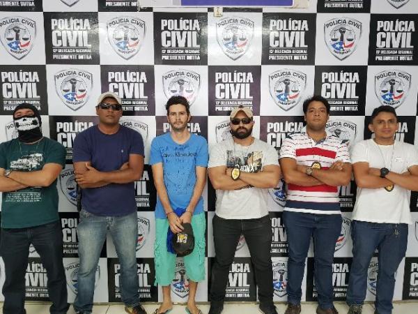 Empresário florianense é preso pela Polícia Civil na cidade de Presidente Dutra.(Imagem:Polícia Civil)