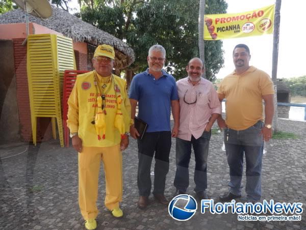 Terminal Turístico de Floriano recebeu visita do conselheiro do Iphan.(Imagem:FlorianoNews)