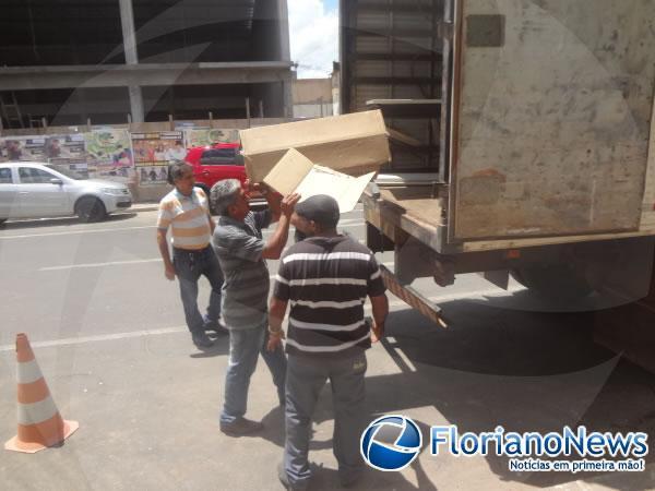 Secretaria da Fazenda de Floriano muda de endereço para reforma.(Imagem:FlorianoNews)