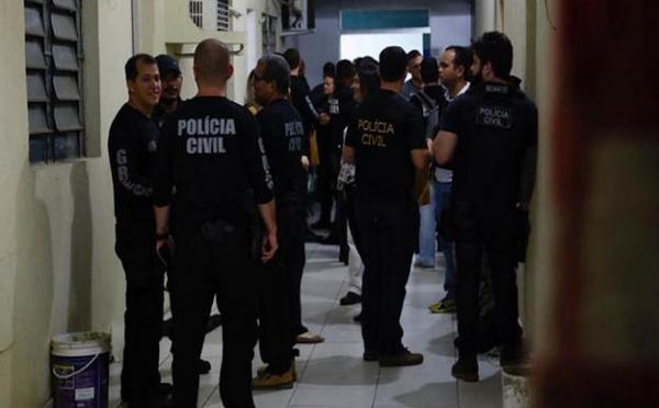 Operação contra pedofilia cumpre mandados no Piauí e em 23 Estados.(Imagem:Polícia Civil)