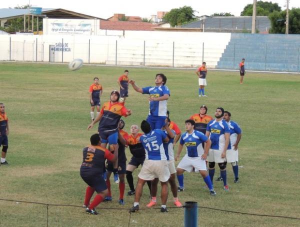 Parnaíba Rugby passou meses treinando e jogando amistosos antes de partida oficial.(Imagem:Arquivo pessoal)