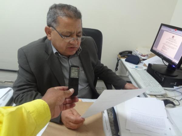 Noé Pacheco, Juiz de Direito da 1ª Vara Criminal.(Imagem:FlorianoNews)