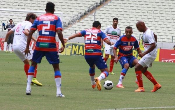 River-PI encara Fortaleza mordido após derrota por 3 a 0 na estreia da Copa do Nordeste 2016.(Imagem:Divulgação/RiverAC)