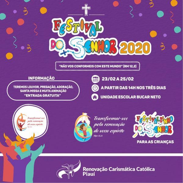 Festival do Senhor 2020(Imagem:Divulgação)