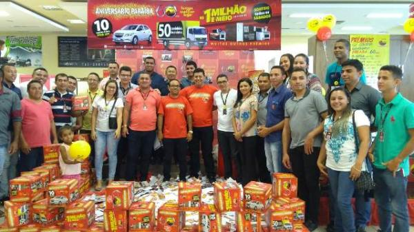 Armazém Paraíba realiza em Floriano o segundo sorteio da promoção de aniversário.(Imagem:FlorianoNews)