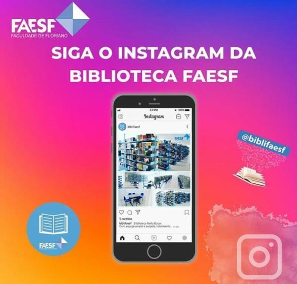 Instagram Biblioteca Naila Bucar(Imagem:Divulgação)