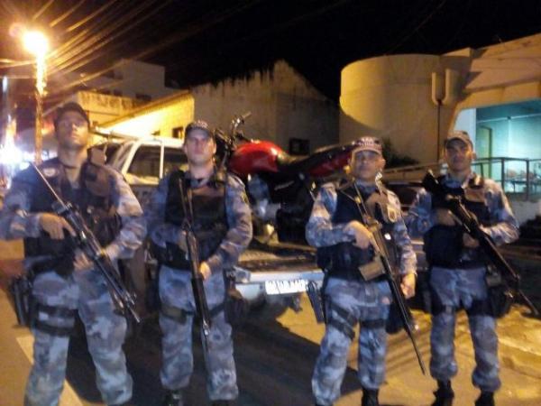 Menor é apreendido com arma de fogo após assalto em Floriano.(Imagem:Força Tática)