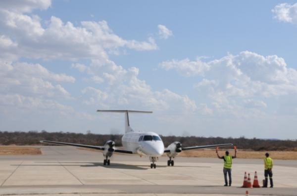 Aeroporto de São Raimundo Nonato.(Imagem:Marcelo Cardoso)